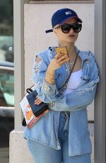 BEBE REXHA Out and About in Beverly Hills 04/05/2017