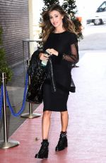 BELEN RODRIGUEZ Arrives at Maurizio Costanzo Show in Rome 04/26/2017