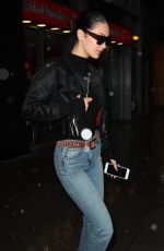BELLA HADID Heading to a Photoshoot in New York 03/31/2017