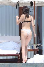 BELLA HADID in Bikini on Vacation in Cabo San Lucas 04/03/2017