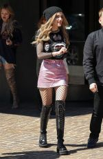 BELLA THORNE Out in New York 04/18/2017