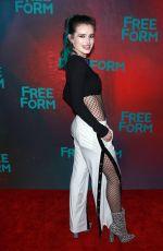 BELLA THORNE at 2017 Freeform Upfront in New York 04/19/2017