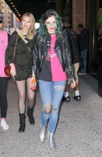 BELLA THORNE Out and About in New York 04/17/2017