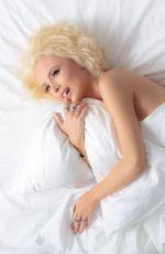 BELLA THORNE  recreates Marilyn Monroe for Harper