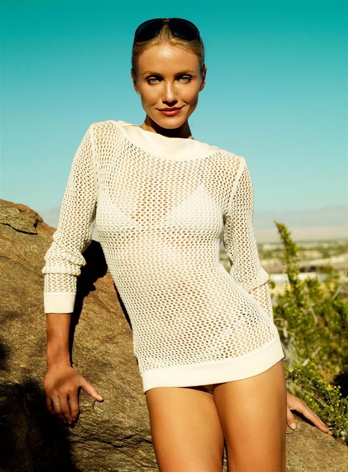 Best from the Past - CAMERON DIAZ in Vogue Magazine, June 2009