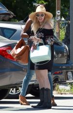 BETH BEHRS Out for Lunch in Ojai 04/20/2017