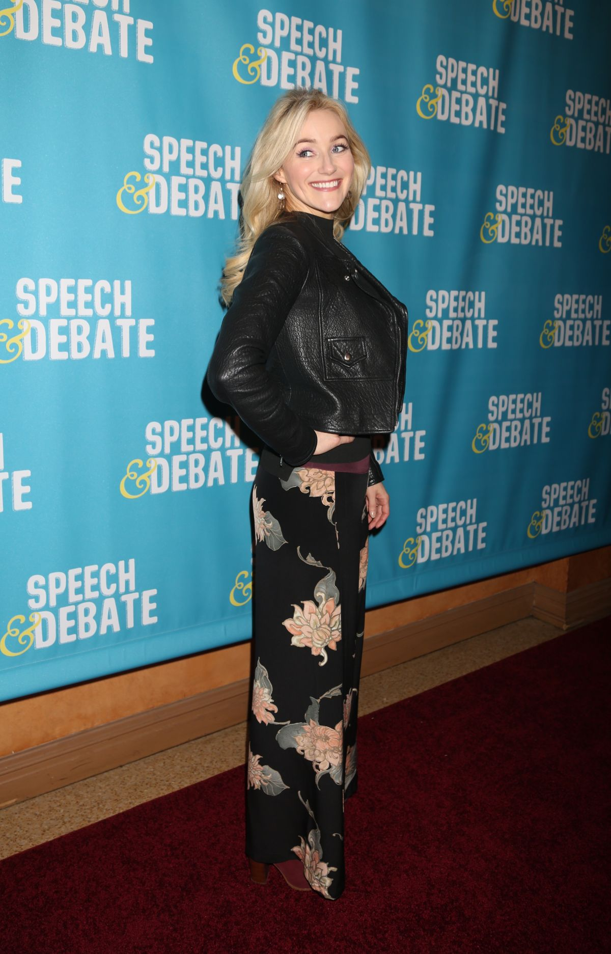 BETSY WOLFE at Speech & Debate Premiere in New York 04/02/2017