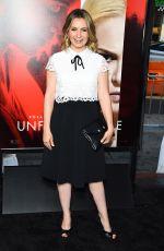 BEVERLEY MITCHELL at Unforgettable Premiere in Los Angeles 04/18/2017