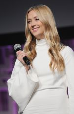 BILLIE LOURD at 40 Years of Star Wars Panel at 2017 Star Wars Celebration in Orlando 04/13/2017