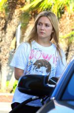 BILLIE LOURD at a Gas Station in Hollywood 04/10/2017