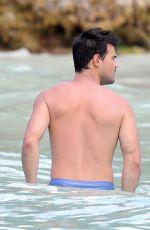 BILLIE LOURD in Bikini at a Beach in St Barts 04/06/2017