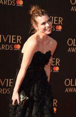 BILLIE PIPER at Olivier Awards in London 04/09/2017