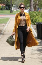 BLANCA BLANCO Out and About in Beverly Hills 04/18/2017