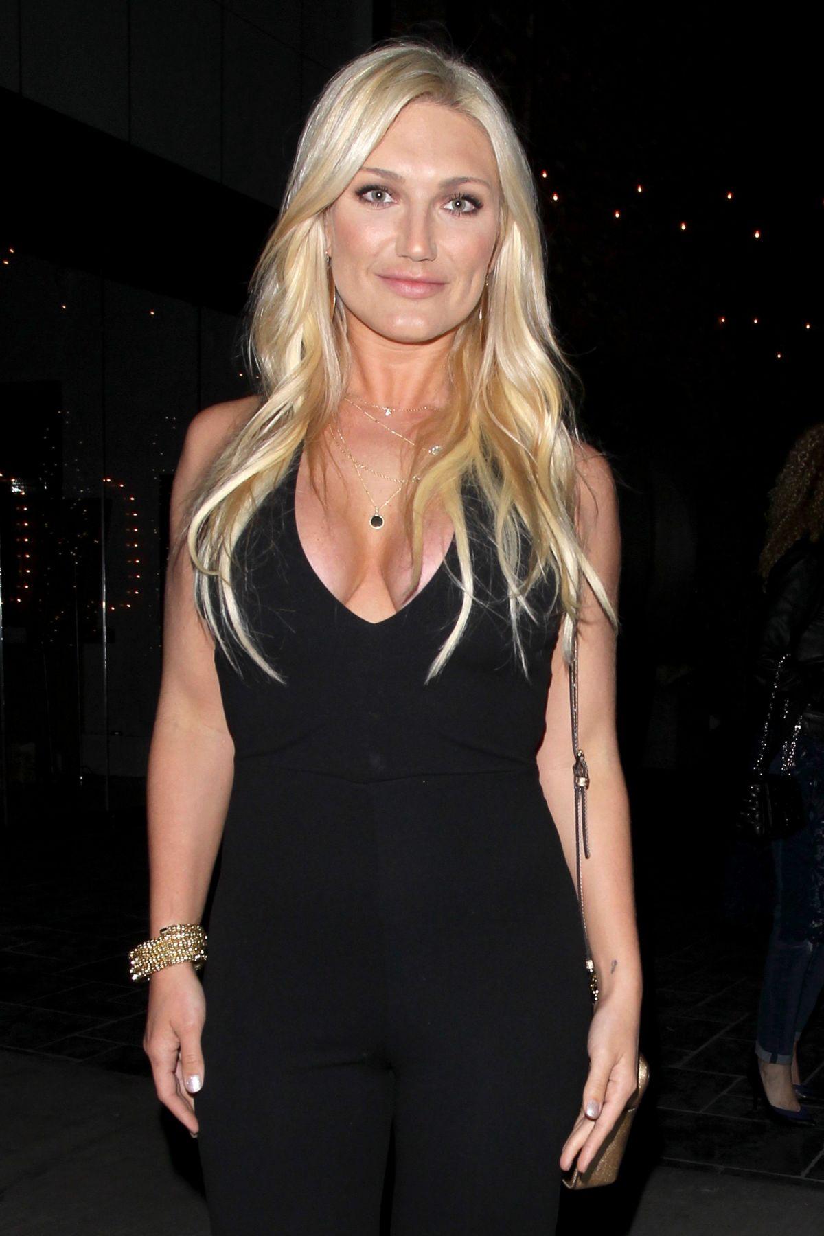 BROOKE HOGAN at Avenue Nightclub in Hollywood 04/12/2017
