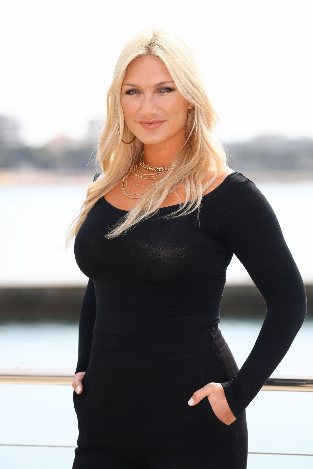 BROOKE HOGAN at Fashion Hero Photocall at Miptv in Cannes 04/03/2017