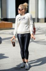 BUSY PHILIPPS Leaves a Gym in Los Angeles 04/11/2017