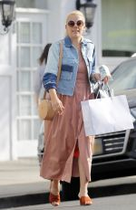 BUSY PHILIPPS Out Shopping In Beverly Hills 04/25/2017