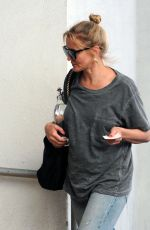 CAMERON DIAZ Arrives at a Medical Building in Beverly Hills 04/25/2017