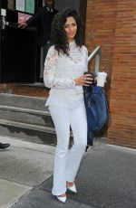 CAMILA ALVES Leaves ABC Studios in New York 04/25/2017