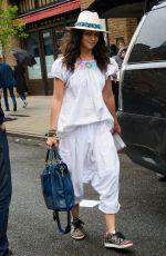 CAMILA ALVES Leaves Her Hotel in New York 04/26/2017