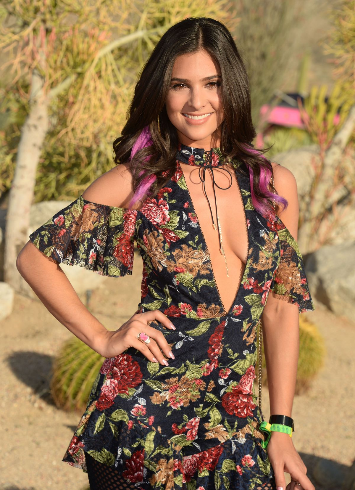 CAMILA BANUS at Paper x Pretty Little Thing Event at 2017 Coachella Valley Music and Arts Festival 04/14/2017