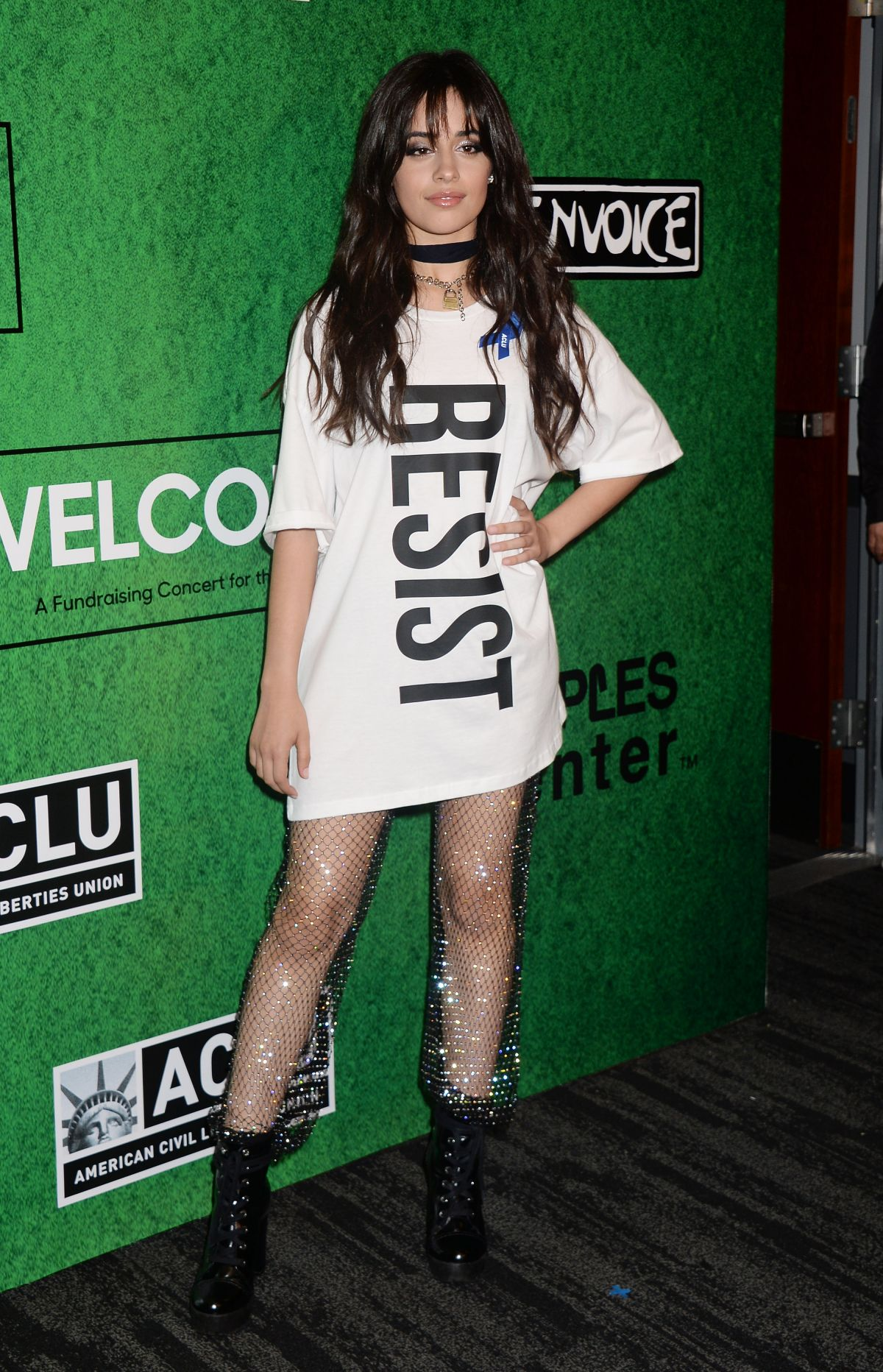 CAMILA CABELLO at Zedd's Welcome! ACLU Benefit Concert in ...