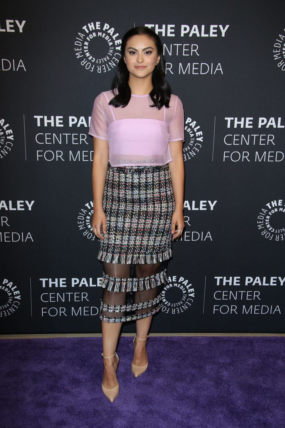 CAMILA MENDES at Riverdale Screening in Beverly Hills 04/17/2017
