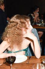 CAMILLE ROWE at Sally Singer and Lisa Love Denim Dinner in Los Angeles 04/05/2017