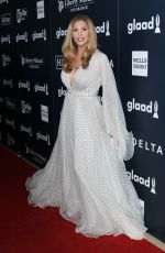 CANDIS CAYNE at 2017 Glaad Media Awards in Los Angeles 04/01/2017
