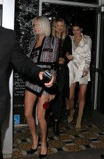CARA DELEVINGNE and KENDALL JENNER at Stella Barra Pizzeria in Hollywood 03/27/2017