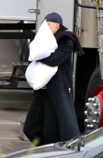 CARA DELEVINGNE on the Set of Life in a Year in Toronto 04/21/2017