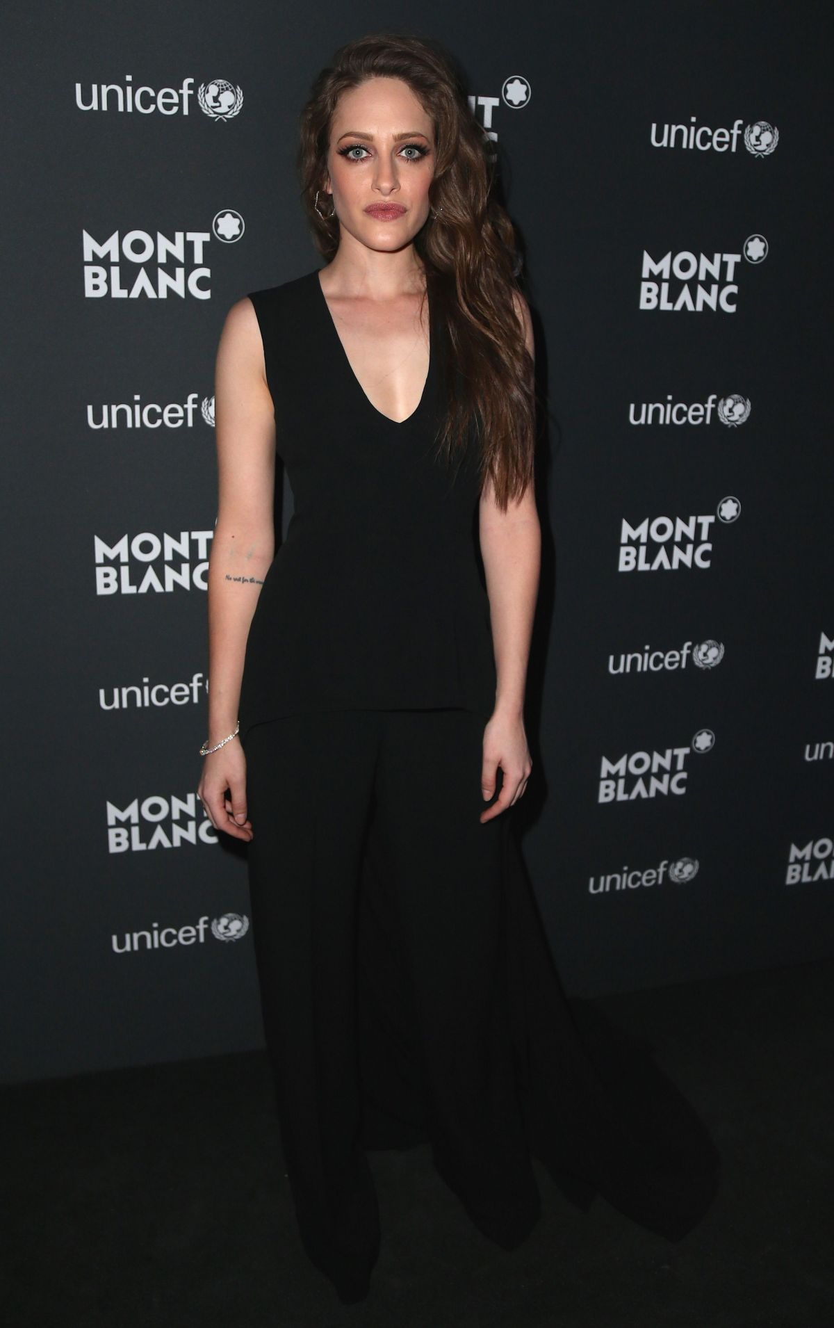 CARLY CHAIKIN at Montblanc for Unicef Collection Launch in New York 04/03/2017