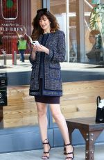 CAROL ALT Out and About in New York 03/31/2017
