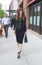 CAROL ALT Out and About in New York 04/20/2017