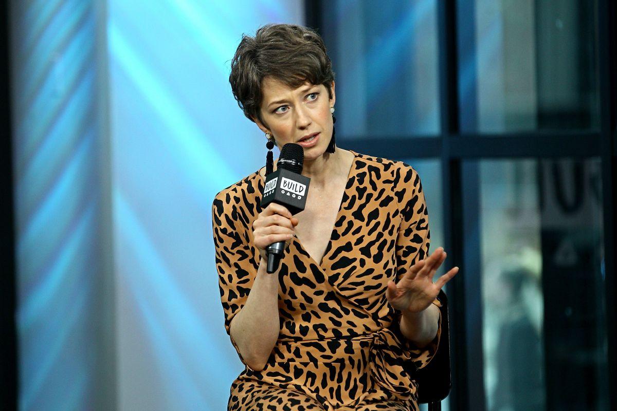 CARRIE COON at AOL Buisle Speaker Series in New York 04/13 ... Freida Pinto