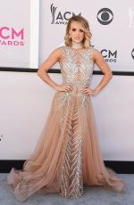 CARRIE UNDERWOOD at 2017 Academy of Country Music Awards in Las Vegas 04/02/2017