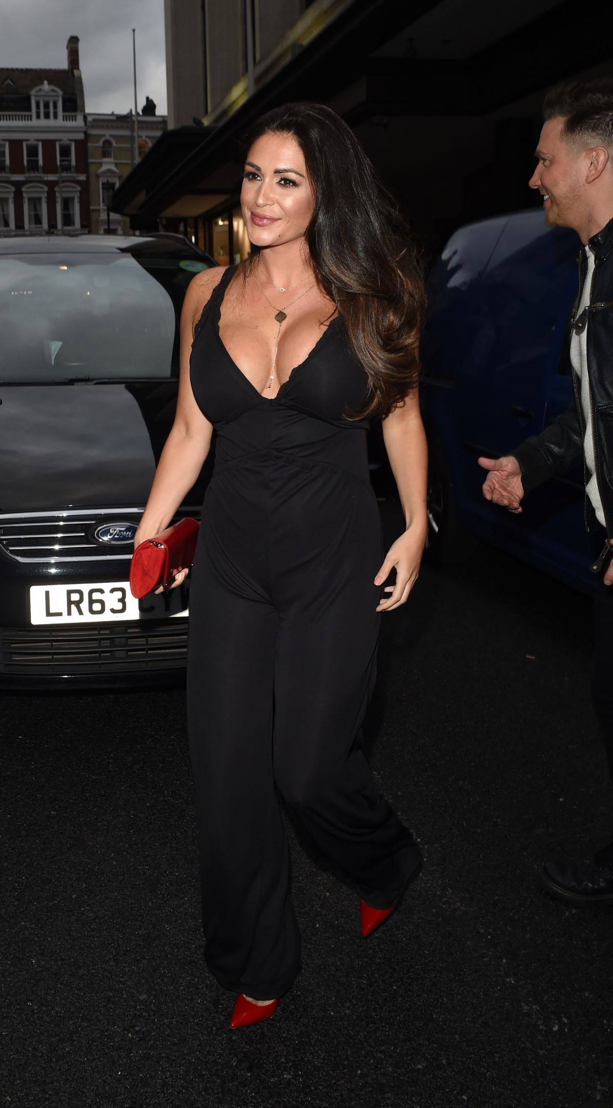 CASEY BATCHELOR at Jog on to Cancer Fundraiser in London 04/12/2017