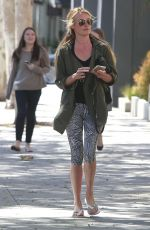 CAT DEELEY Out for a Mani-Pedi in Beverly Hills 03/31/2017