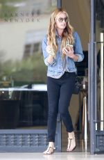 CAT DEELEY Shopping at Barney
