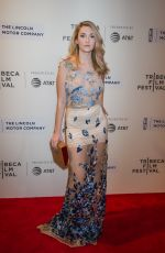 CATHERINE CORCORAN at Chuck Premiere at Tribeca Film Festival in New York 04/28/2017