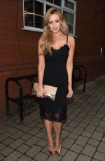 CATHERINE TYLDESLEY at Bleakholt Animal Charity Ball in Bury 04/01/2017