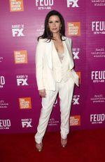 CATHERINE ZETA JONES at Feud Premiere in New York 04/18/2017