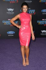CERINA VINCENT at Guardians of the Galaxy Vol. 2 Premiere in Hollywood 04/19/2017