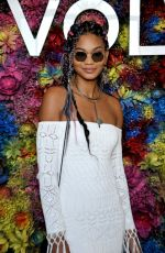 CHANEL IMAN at Revolve Desert House at 2017 Coachella in Indio 04/15/2017