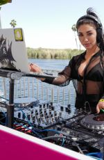 CHANTEL JEFFRIES at Revolve Desert House at 2017 Coachella in Indio 04/15/2017