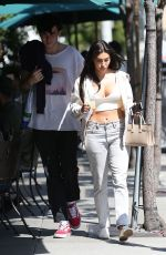 CHANTEL JEFFRIES Leaves Urth Caffe in West Hollywood 04/13/2017