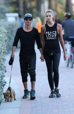 CHARISSE VERHAERT and Julio Iglesias, Jr. Out in Miami Beach  03/19/2017