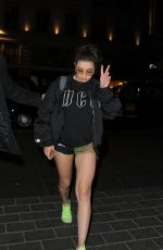 CHARLI XCX Arrives at Various Artists Management Party in London 04/20/2017