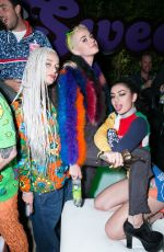 CHARLI XCX at Moschino Candy Crush Party at Coachella Festival in Indio 04/15/2017