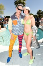 CHARLI XCX in Bikini at Galore x Grindr Pool Party at Coachella 2017 in Palm Springs 04/14/2017